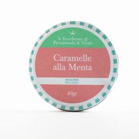 Le Eccellenze di Prezzemolo & Vitale Caramelle alla menta gr.40