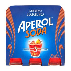 Campari Aperol soda ml. 125 x 6