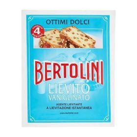 Bertolini Lievito per dolci vanigliato gr. 64