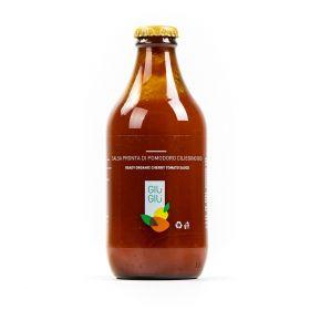 giù giù salsa di pomodoro ciliegino bio cl 33 prezzemolo e vitale biologico