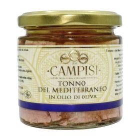 Campisi Tonno del Mediterraneo in olio d'oliva gr.220