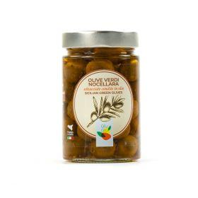 giù giù olive verdi nocellara gr. 300 prezzemolo e vitale