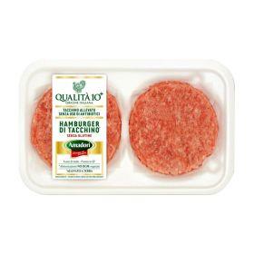 Amadori Hamburger di tacchino x2 gr.204