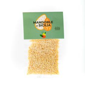 giù giù granella mandorle siciliane gr. 100 sicilia siciliano prezzemolo e vitale
