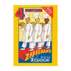 Tre Cuochi  Zafferano in polvere busta x 4