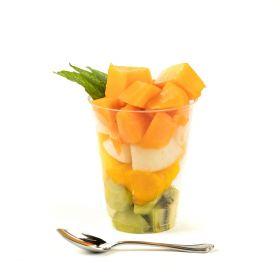 Le selezioni P&V Macedonia di frutta fresca gr.300 circa prezzemolo e vitale