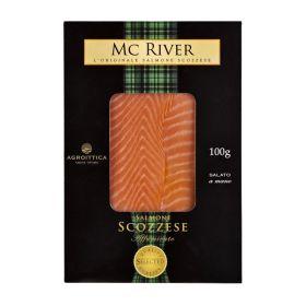 Agroittica Salmone affumicato scozzese Mc River gr.100