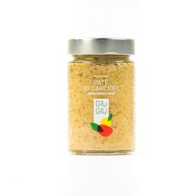 giù giù patè di carciofi gr. 200 sicilia siciliano prezzemolo e vitale