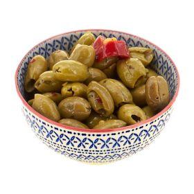 Le selezioni P&V Olive condite schiacciate aromattizzate