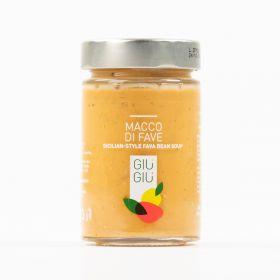 giù giù macco di fave 300 grammi sicilia siciliano prezzemolo e vitale