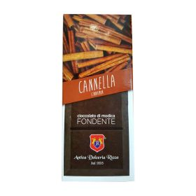 Dolceria Rizza Cioccolato di Modica cannella gr. 100
