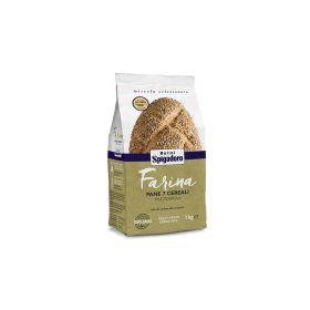 Molini Spigadoro Farina pane 7 cereali kg. 1