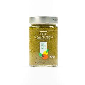 giù giù patè olive verdi gr. 200 sicilia siciliano prezzemolo e vitale