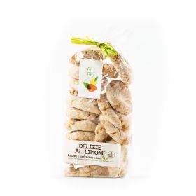 giù giù biscotti delizie al limone gr. 300 prezzemolo e vitale