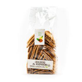 giù giù crackers al rosmarino gr. 150 prezzemolo e vitale