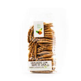 giù giù crackers semi di chia gr. 150 prezzemolo e vitale