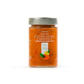 Giù Giù Pesto alle melanzane e mandorle gr.200