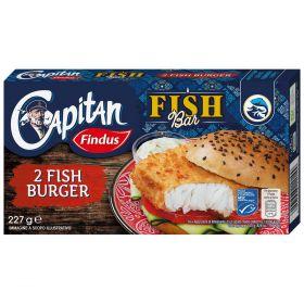 Findus 2 Fish burger di merluzzo gr. 227