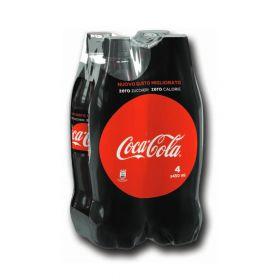 Coca cola Zero PET cl. 45 x 4